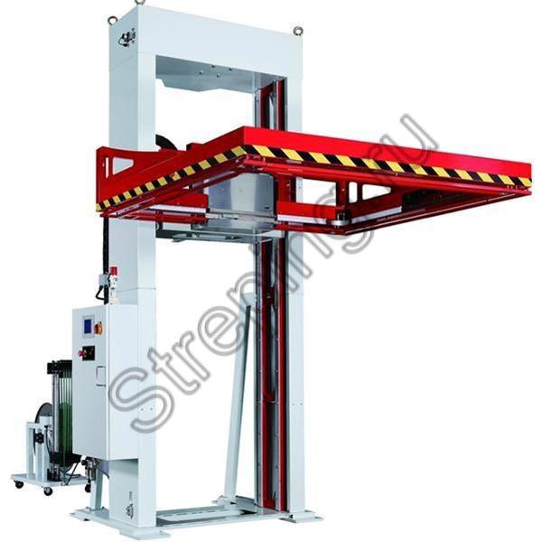 Автоматическая стреппинг машина ТР-703Н для горизонтальной обвязки паллет