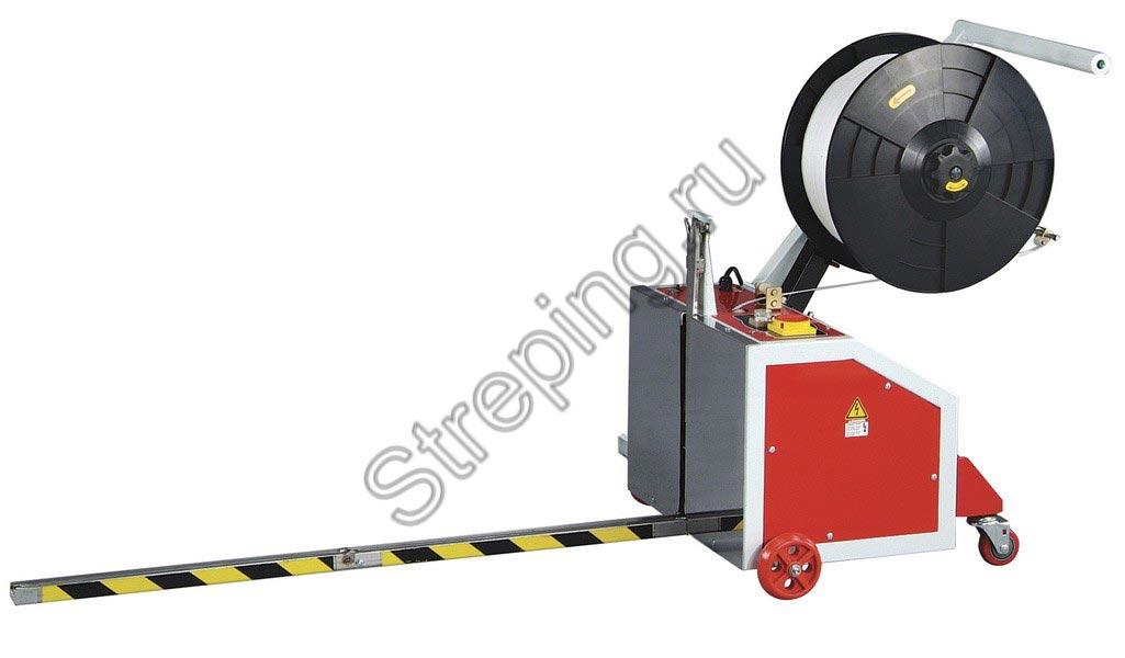 Полуавтоматическая мобильная стреппинг-машина ТР-202MV MINI VERTI